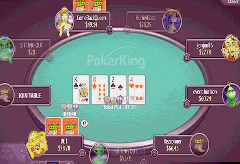 PokerKing casino online